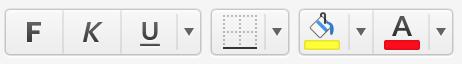 Formatieren in Excel