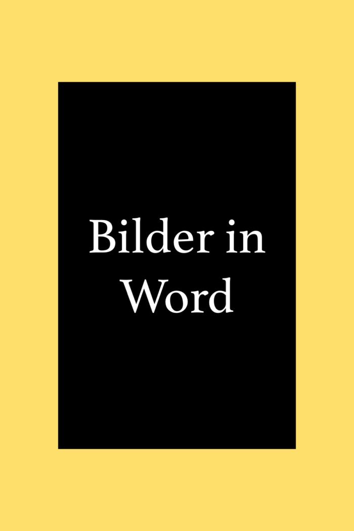 Bilder in Word einfügen, verschieben, zuschneiden, beschriften, freistellen.