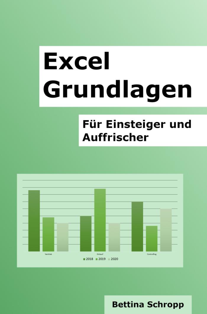 Excel Grundlagen für Einsteiger und Auffrischer. Lehrbuch.