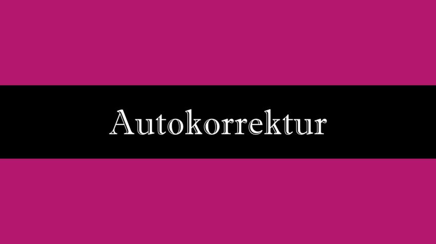Autokorrektur ausschalten in Word oder Excel